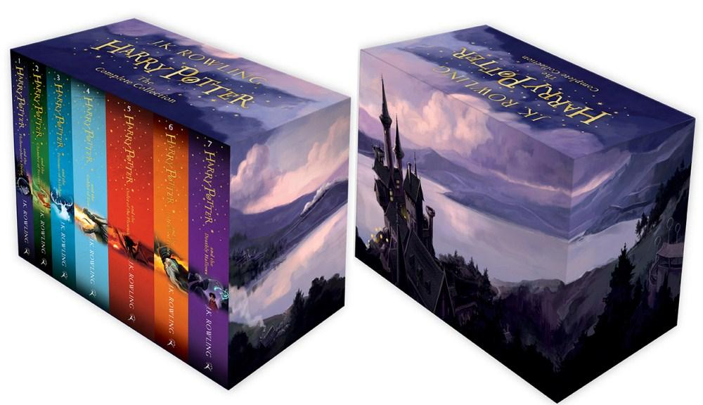 Harry Potter Book Gift Set ~ Harry potter the complete collection books set