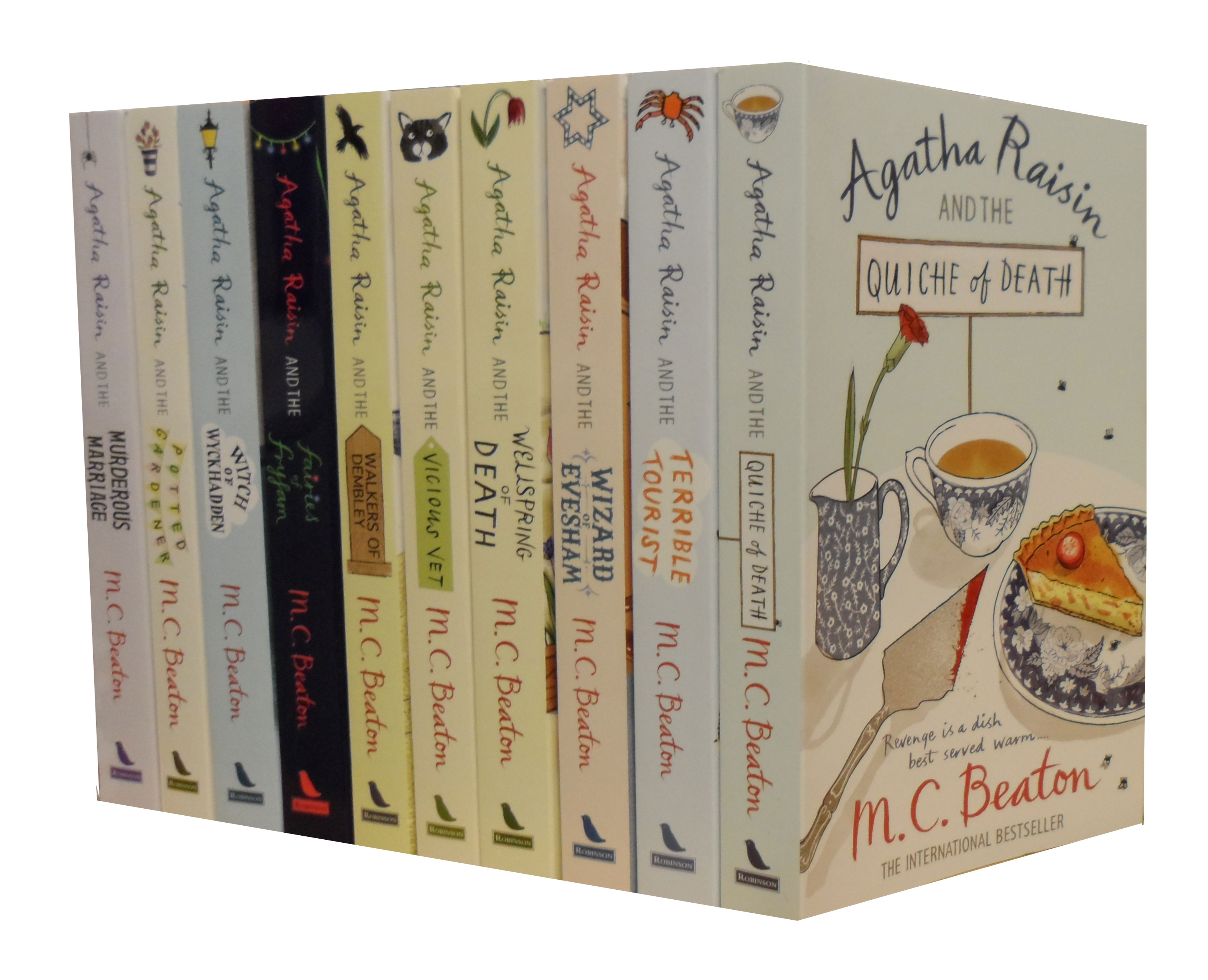 Agatha Raisin Collection 10 Books Set Pack RRP: £ 69.90