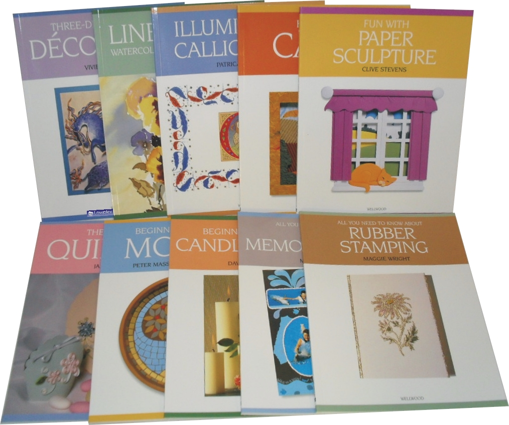 Art & Craft Collection 10 Books Set New RRP: £ 65.58