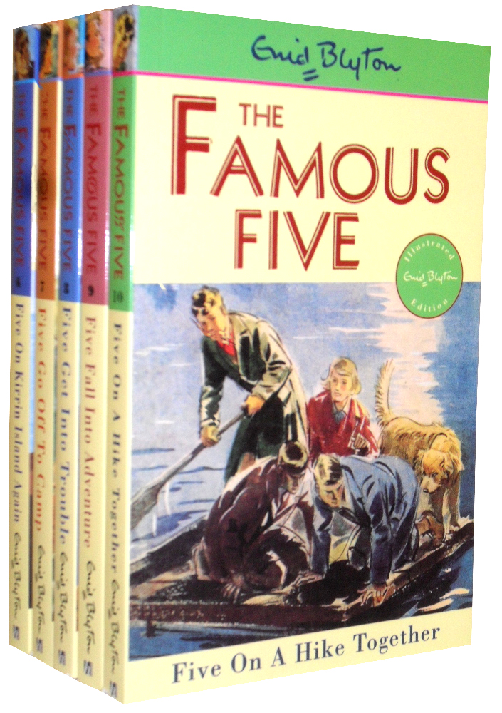 Enid Blyton Famous Five Collection 5 Books Set (6 To10) New RRP: £ 24.95