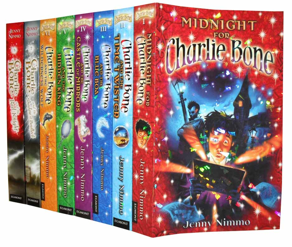 Charlie Bone Collection 8 Books Set New RRP: £ 47.92