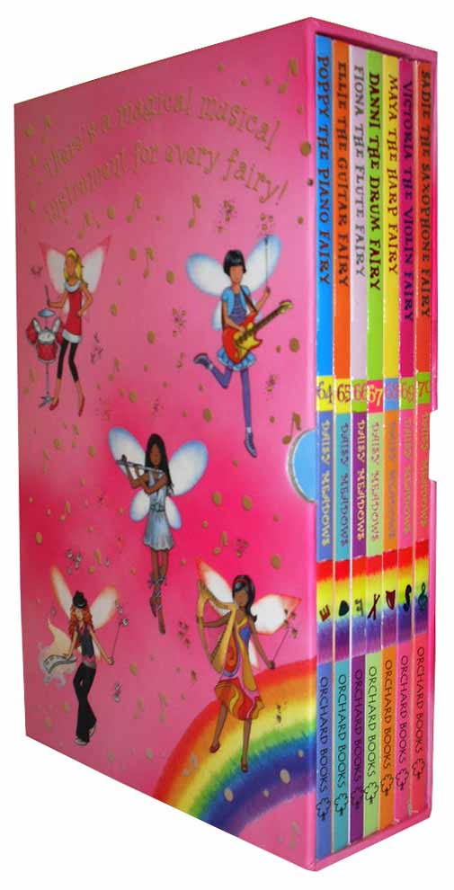 Related pictures rainbow magic music fairies series 7 books set pack