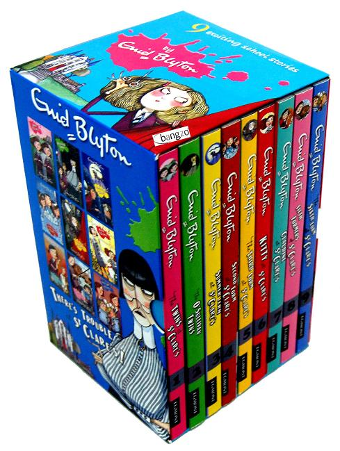 St Clares Enid Blyton Box Set 9 Book (Malory Tower)