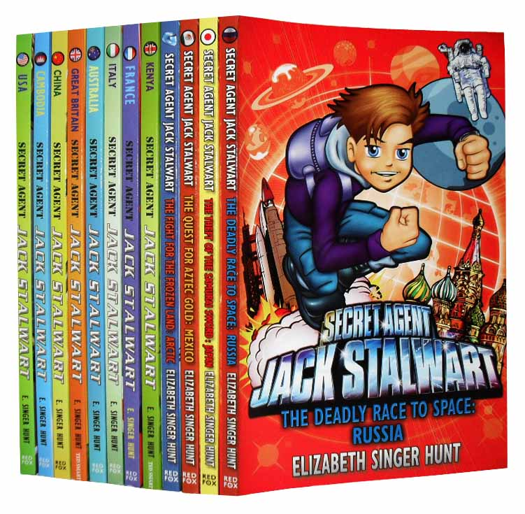 Jack Stalwart Collection Children 12 Books Pack Set New RRP: £ 47.88