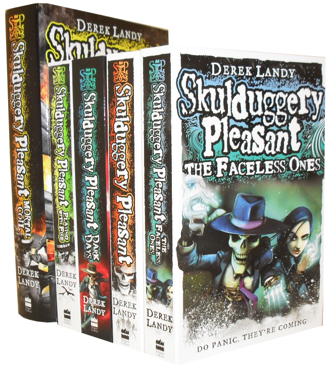 Skulduggery Pleasant 4 Books Set Collection RRP £39.99
