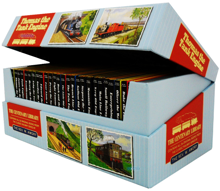 Thomas the Tank Engine: The Classic Library Station Box Set 26 Books