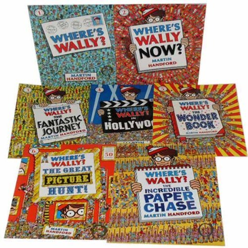 Where's Wally Collection 7 books Set RRP: £41.93