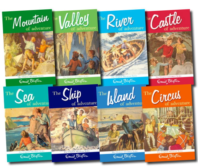 Enid Blyton's Adventure series 8 Books Gift Box set