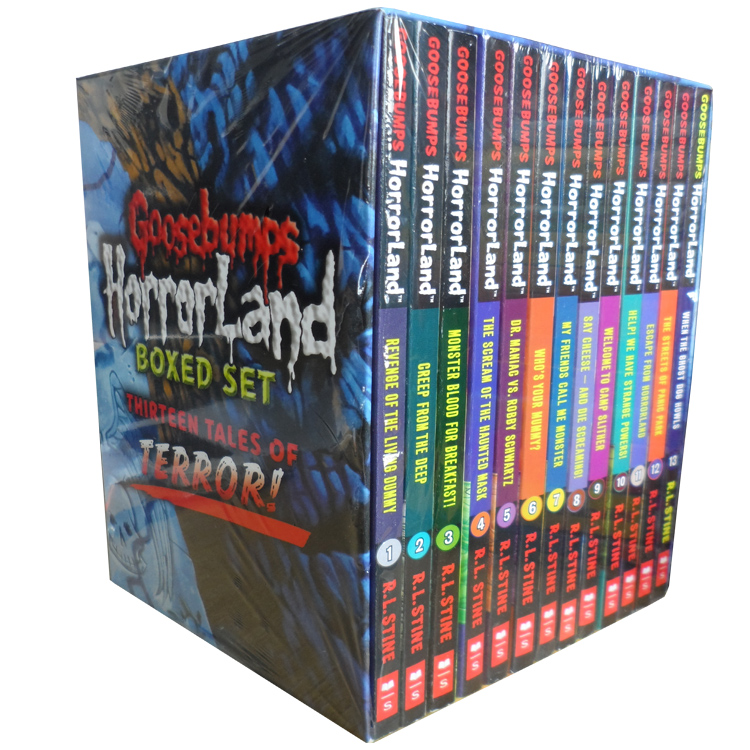 goosebumps book report The haunted mask is the eleventh book in goosebumps, the series of children's horror fiction novels created and authored by r l stinethe book follows carly beth, a girl who buys a halloween mask from a store.
