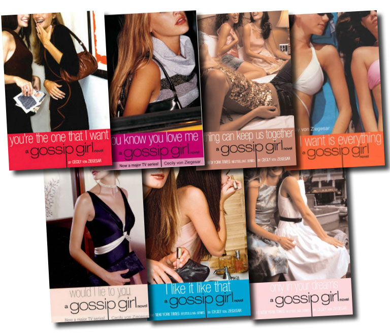 What necessary Gossip girl book series