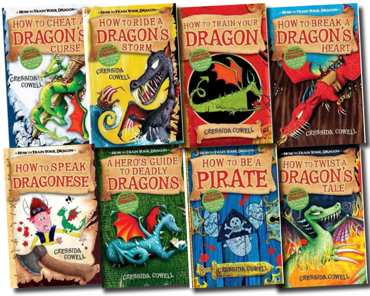 Hiccup How to Train Your Dragon 8 Books Collection Set  eBay