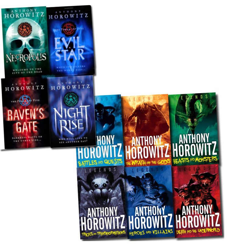 Anthony Horowitz Collection 10 Books Set The Legends And