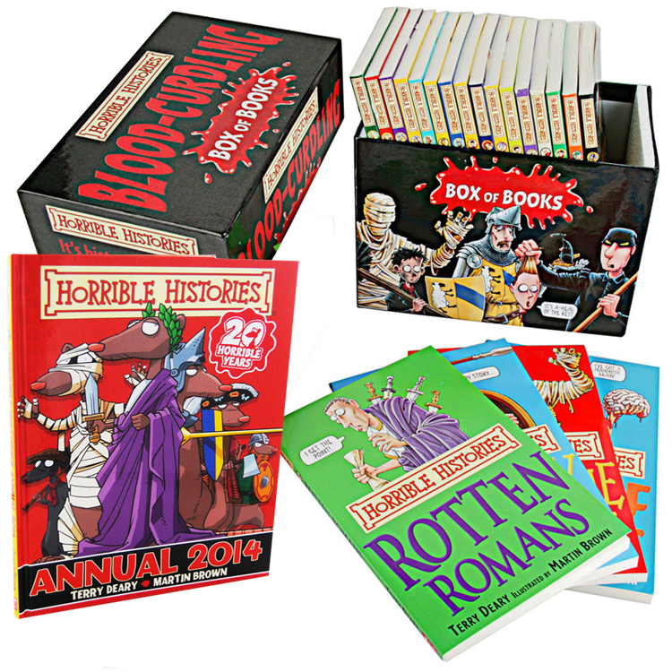 Horrible Histories Collection 20 Books Set New RRP: £ 120.00