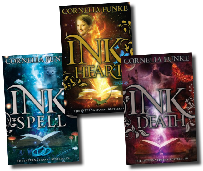 Inkheart Trilogy Collection 3 Book Set New RRP: £ 29.97