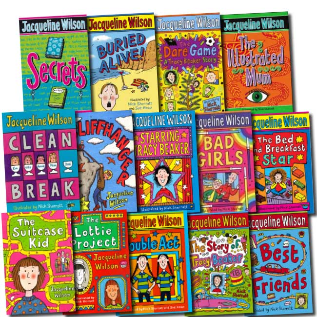 Jacqueline Wilson Collection 14 Books Set Ebay