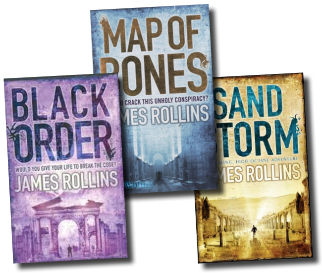 James Rollins Collection 4 Books Set New RRP: £ 27.96