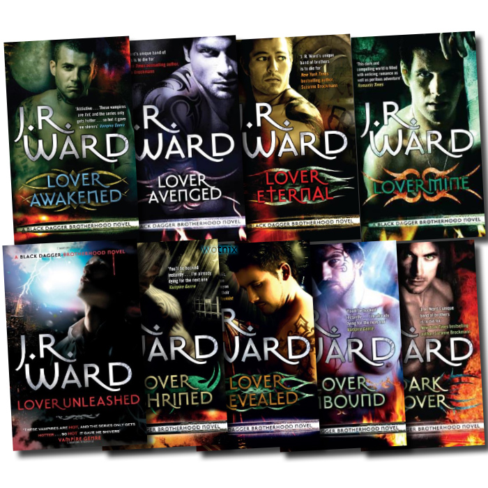 Black Dagger Brotherhood by J.R Ward First 7 books Set New RRP: £ 54.93