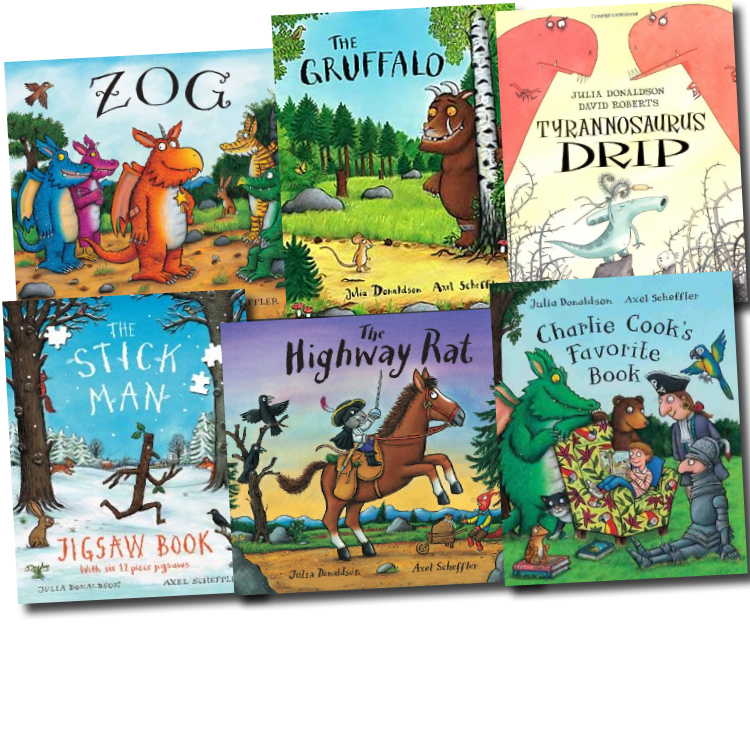 The Gruffalo Collection 6 Books Pack Set New RRP: 39.94