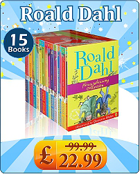 Roald Dahl Complete Collection 15 Books set