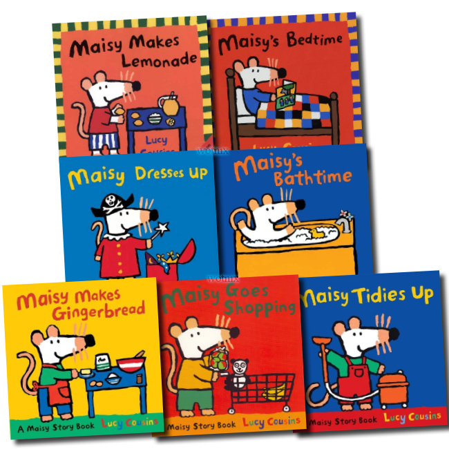 Maisy Loves Collection 10 Story Books Set In Bag Lucy