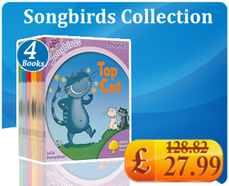 Oxford Reading Tree Songbirds Collection 36 Phonics Books Full Set Level 1 to 6