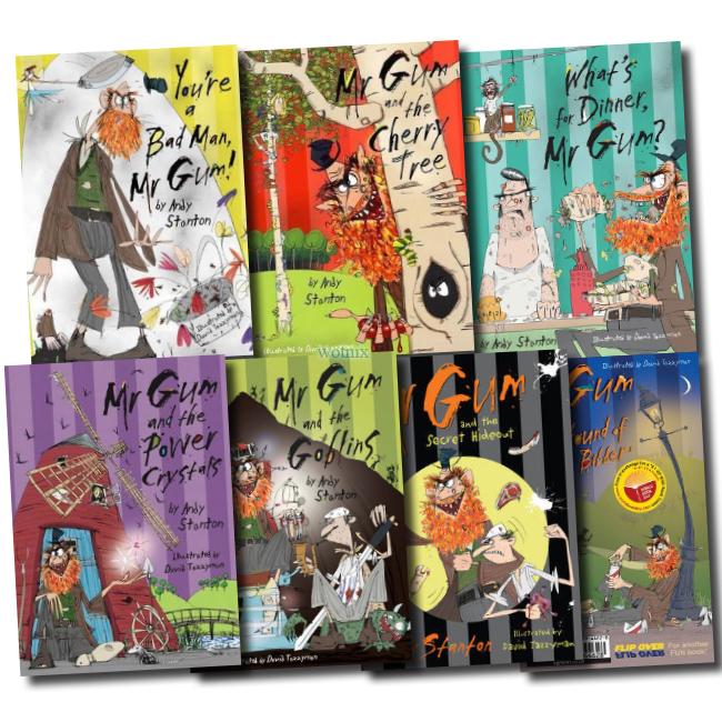 Mr Gum 7 books Set New Andy Stanton RRP:  38.93