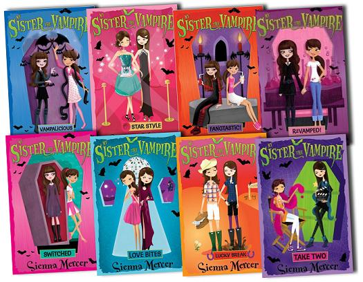 My Sister the Vampire Quartet 4 Books Set RRP: £23.96
