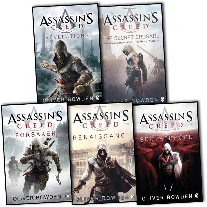 oliver bowden assassins creed collection 5 books set forsaken botherhood etc ebay. Black Bedroom Furniture Sets. Home Design Ideas