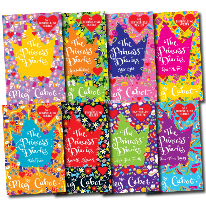 The Princess Diaries Collection Children 8 Books Set BN