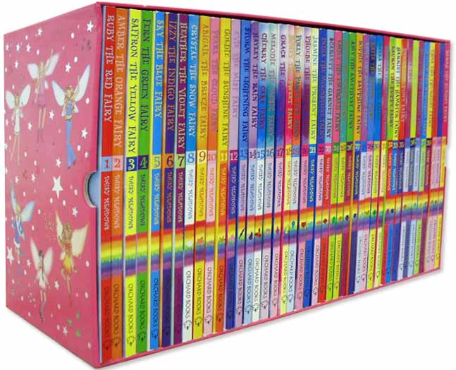 Rainbow magic collection 42 books box set series 1 to 42 new rrp 163