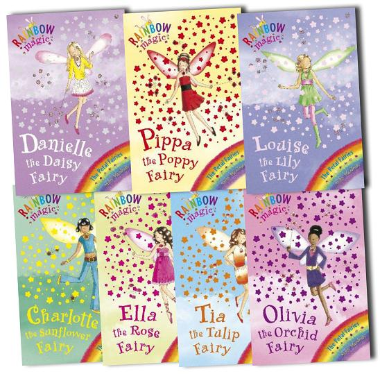 Rainbow Magic Green Fairies (78 to 84) 7 Books Box Set New RRP: 27.93