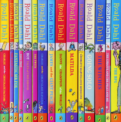 Roald Dahl Complete Collection Children 15 Books BoxSet
