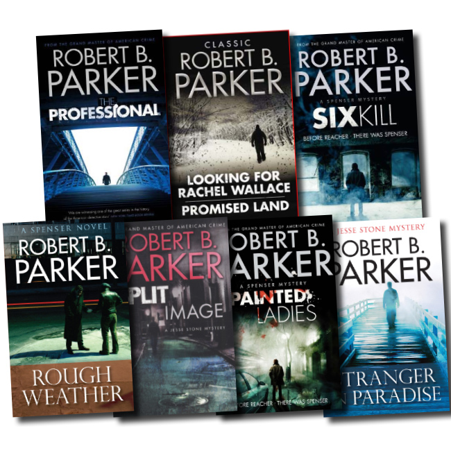 Robert B. Parker Collection 4 Books Set Pack RRP: 31.96