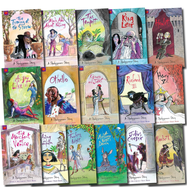 Shakespeare Story Collection 16 Books Box Set New RRP: £ 63.00