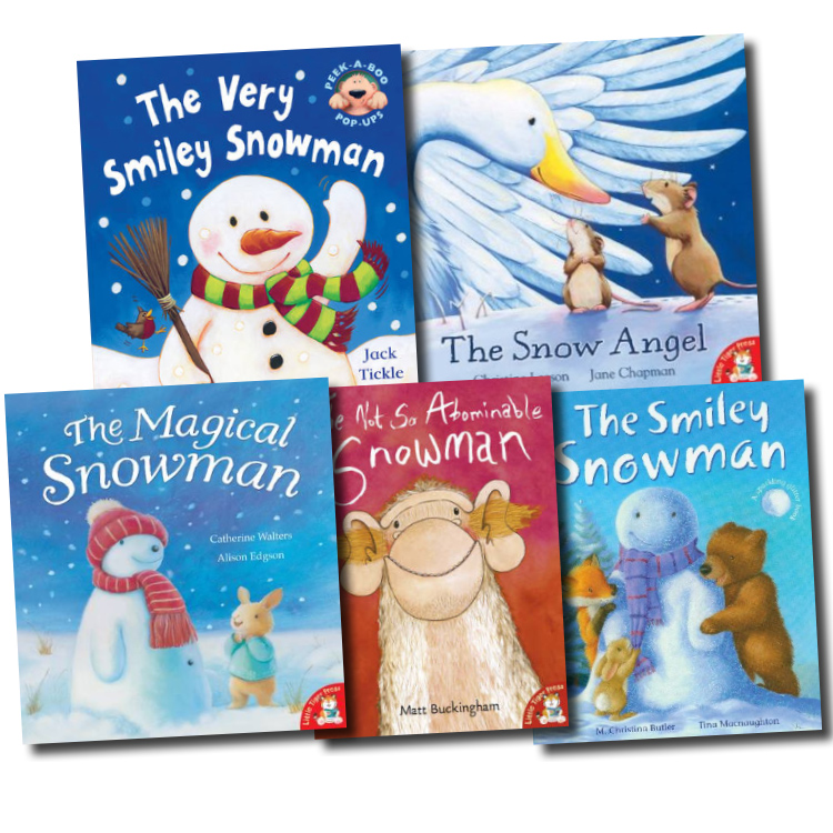 Details about the snowman collection 5 books set very smiley pop up
