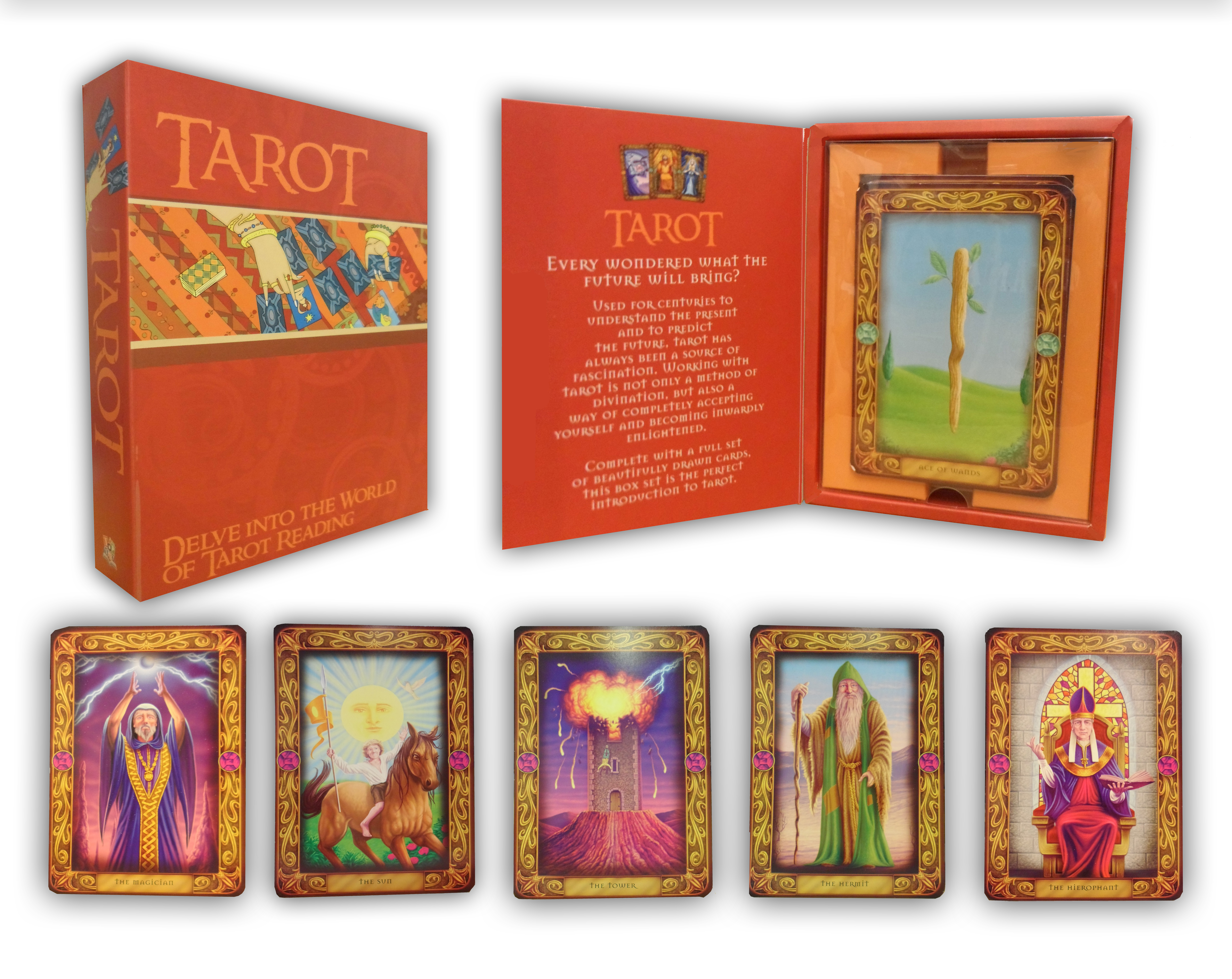 Complete Tarot Card Reading Course - part 1 - YouTube