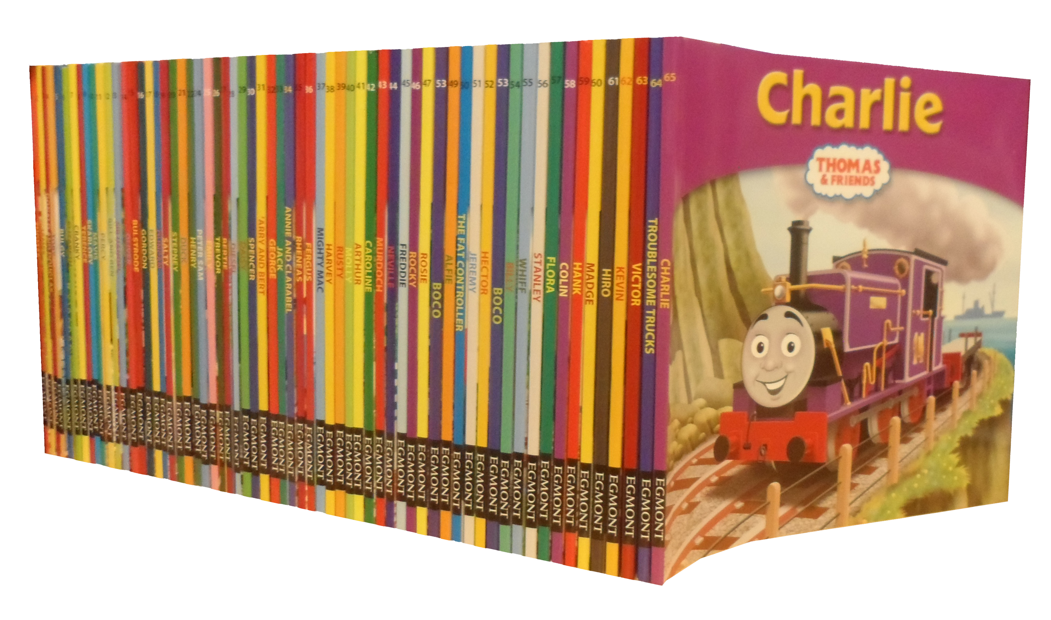Thomas The Tank Engine Friends Collection 64 Books Set