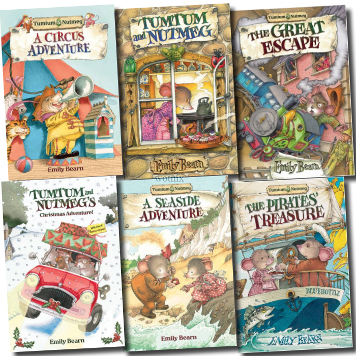 Tumtum and Nutmeg Collection 3 books set Emily Bearn PB