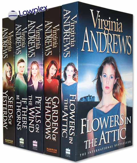 Flowers in the Attic Virginia Andrews Collection 5 Books Set New RRP £ 34.95
