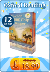 Oxford Reading Tree Read On With Biff Chip and Kipper Time Chronicles 12 Book Set