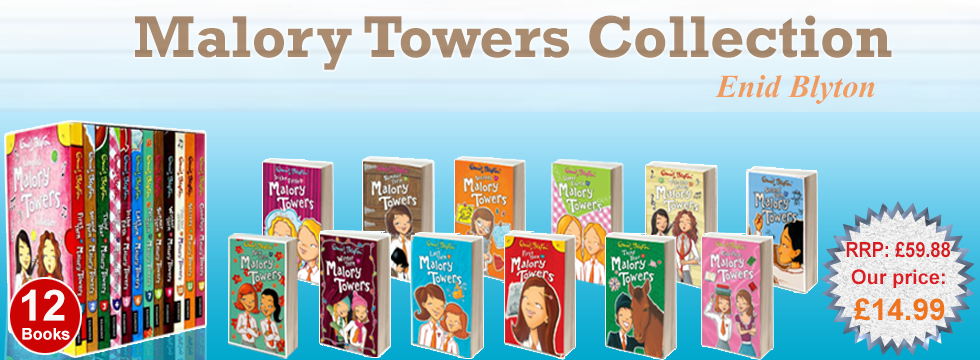 Enid Blyton Complete Malory Towers Collection 12 Books Se
