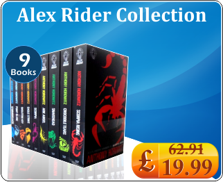Alex Rider Collection Anthony Horowitz 9 Books Set
