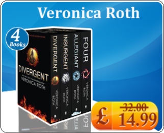 Veronica Roth Four Divergent Insurgent Allegiant 4 Books Collection Box Set