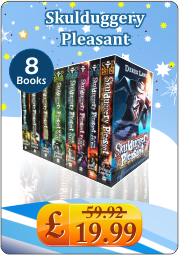 Skulduggery Pleasant Derek Landy 8 Books Set Collection
