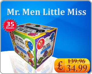 All New Mr. Men Little Miss Story Collection 35 Books Box Set Christmas Gift Set