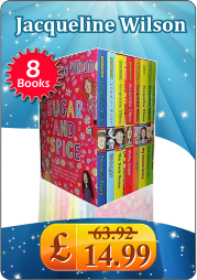 Jacqueline Wilson 8 book Sugar and Spice Collection NEW