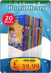 Horrid Henry Terrible Tales Series Collection 20 Books Box Set Gift Pack