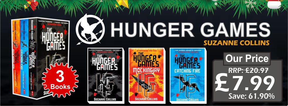 The Hunger games Trilogy Collection Suzanne Collins 3 Books Set (The Hunger Games, Catching Fire, Mockingjay)