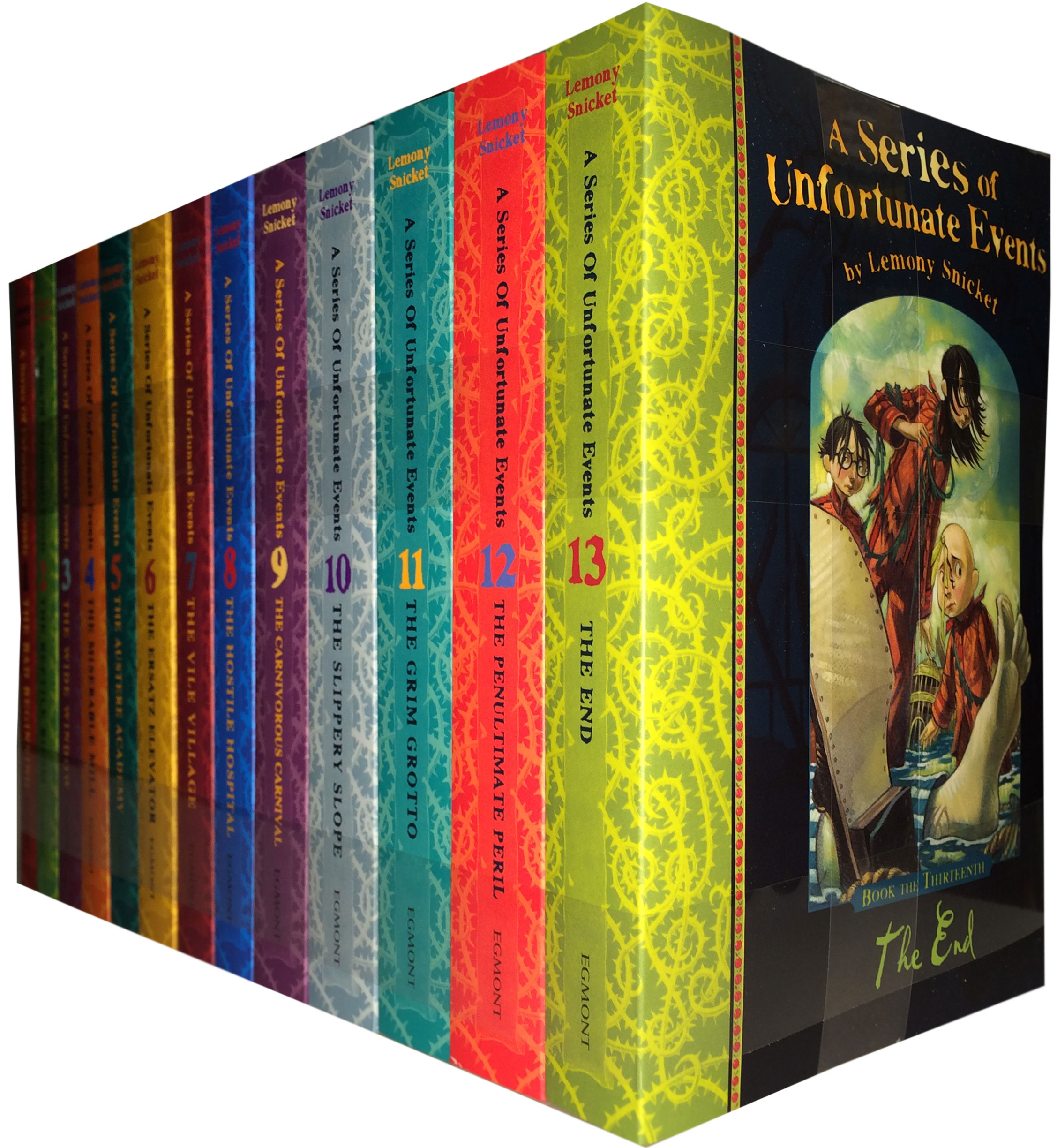 A Series of Unfortunate Events Collection 12 Books Set New RRP: £ 71.88