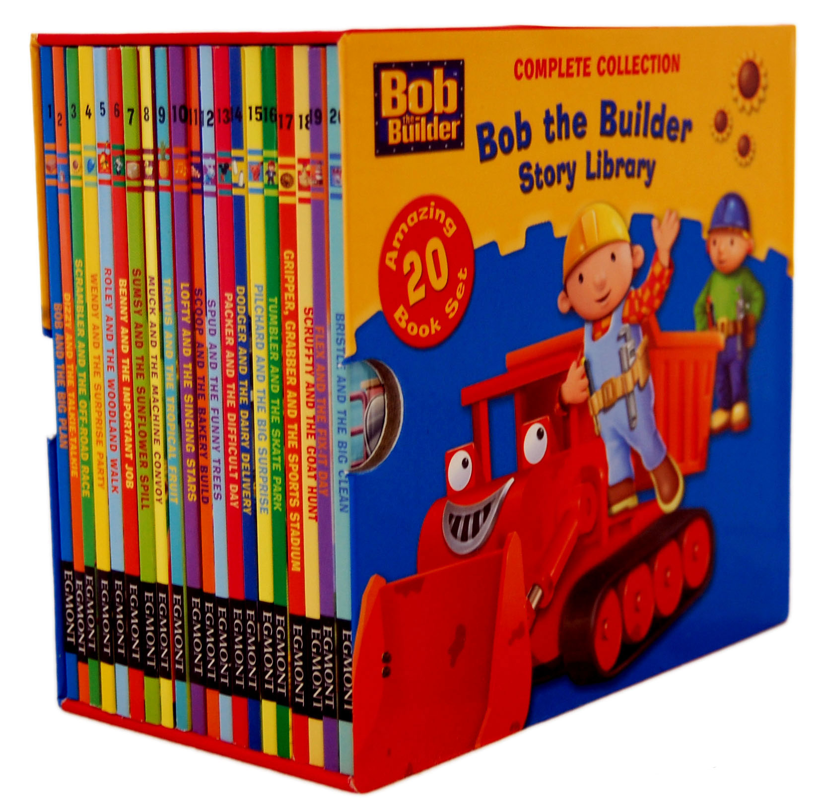 Bob The Builder 20 Books Story Library Series Collection